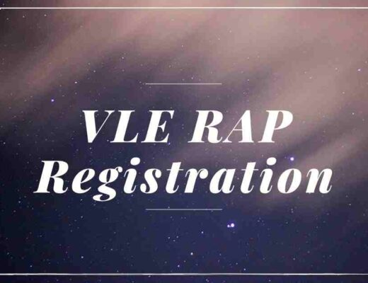 VLE-RAP-Registration