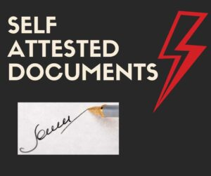Self Attested Document